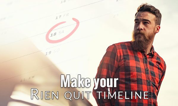 Make your Rien quit schedule
